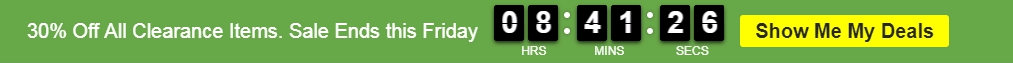 Responsive Header Bar with Countdown Timer
