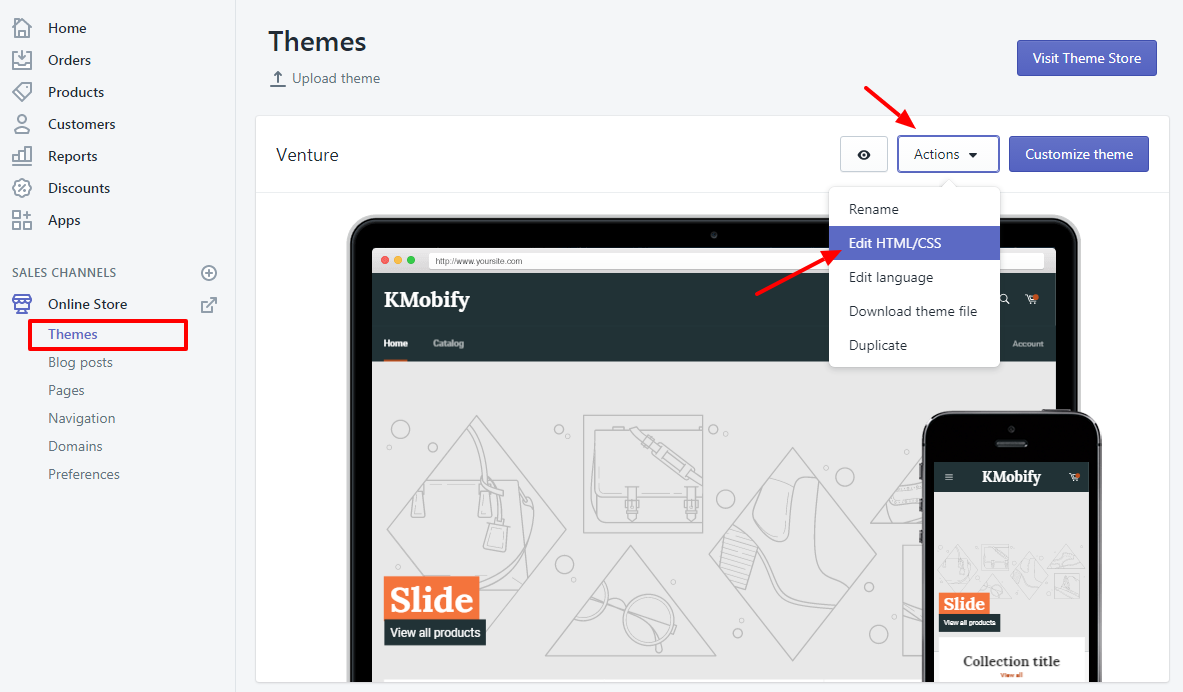 Shopify Embed Social Meta Tags Instructions