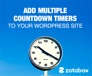 Wordpress Countdown Timer