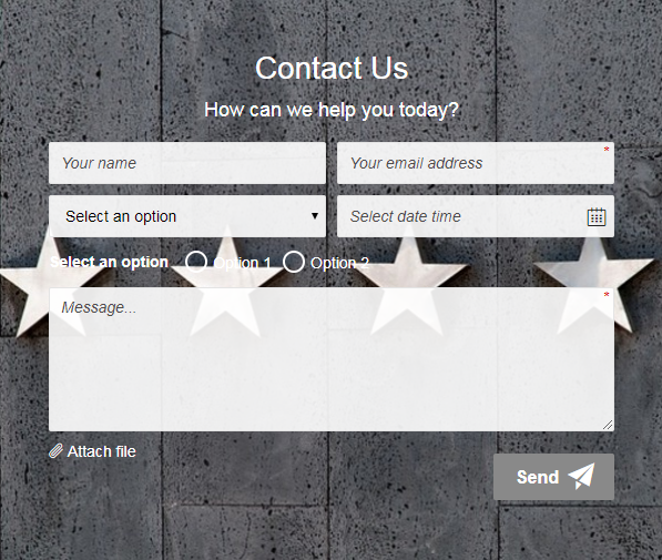 Mailchimp Contact Form