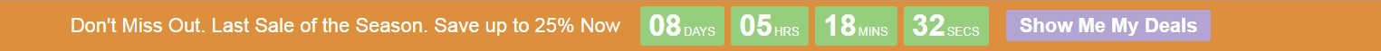 Responsive Countdown Timer Header Bar