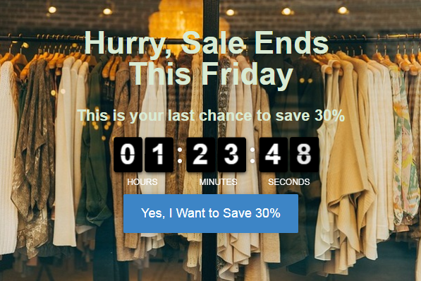 4 Highly Effective Countdown Timer Tools to Increase Your Sales